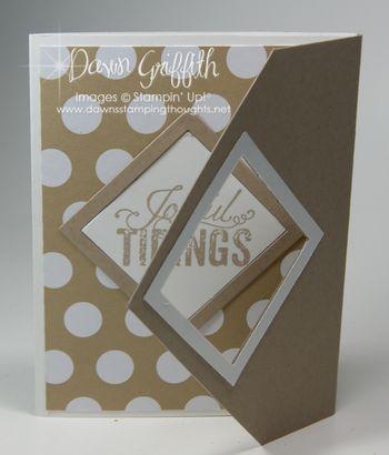 Joyful Tidings  card
