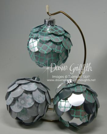 Artichoke Ornaments #1
