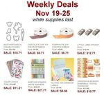 Weekly Deals Nov 19th - Nov 25th