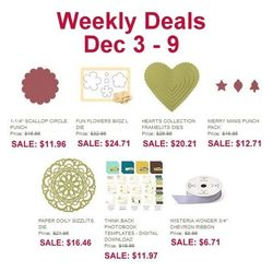 Weekly Deals Dec 3 Dec 9, 2013