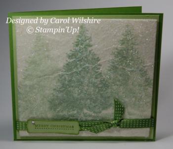 Carol Wilshire  Christmas card 2013