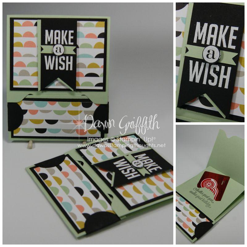 Make a Wish Gift Card holder