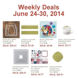 Weely Deals until June 30, 2014