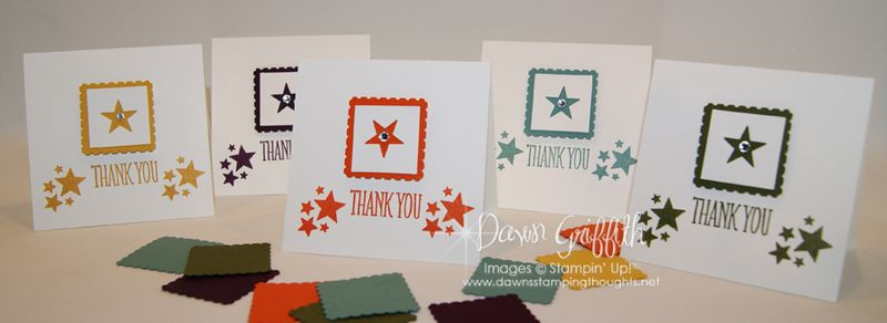 June 2014 Thank you notes