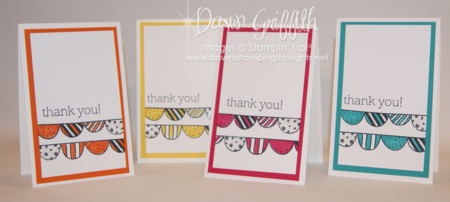 August 2014 Thank you notes