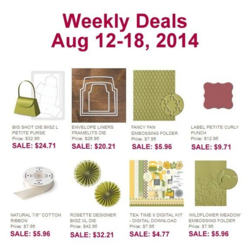 Weekly Deals until Aug18, 2014