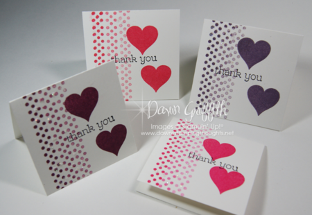 January 2014 Thank you notes