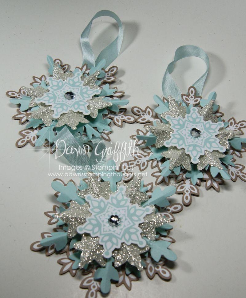 Festive Flurry Ornaments