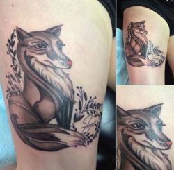 Jessie's new tattoo 2-14-2014