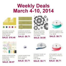 Weekly Deals until March 10, 2014
