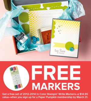 MPP FREE markers until March 31, 2014