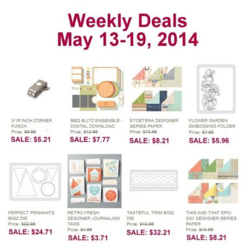 Weekly Deals until May 19, 20154