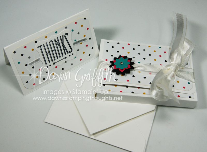 Box for Notecards & Envelopes