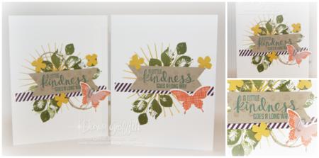 Kindness make & take cards