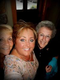 My Mom  Aunt Velma and me