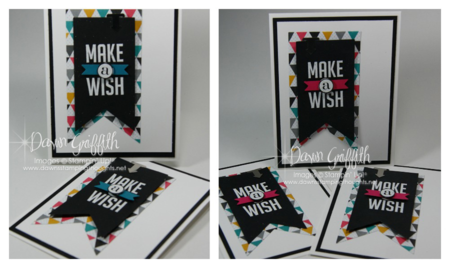 Make a WISH Lauries cards #1