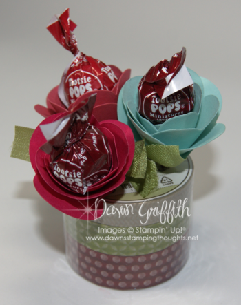 Tootsie Pop Flowers
