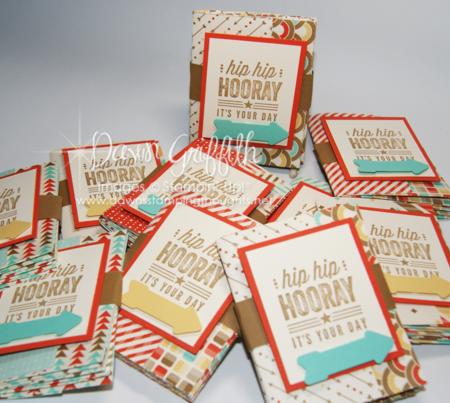 Hip Hip Hooray mini books