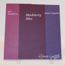 Blackberry Bliss color comparisons