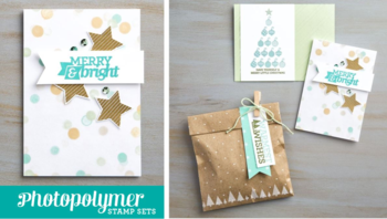 Christmas Bliss   NEW Photopolymer
