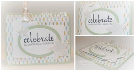Pistachio Pudding Celebrate YOU card