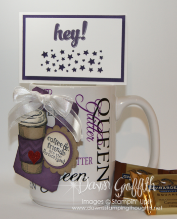 Glitter Queen retreat coffee cup
