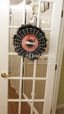 Frightful Wreath on door