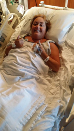 Right after surgery