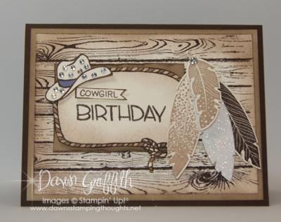 Cowgirl birthday #1