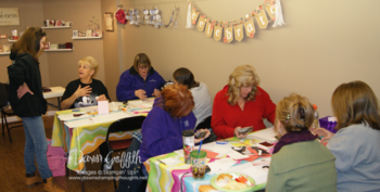 January 2015 Stampers club night #1