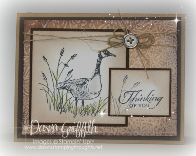 #1Thinking of you Wetlands stamp set Dawn Griffith