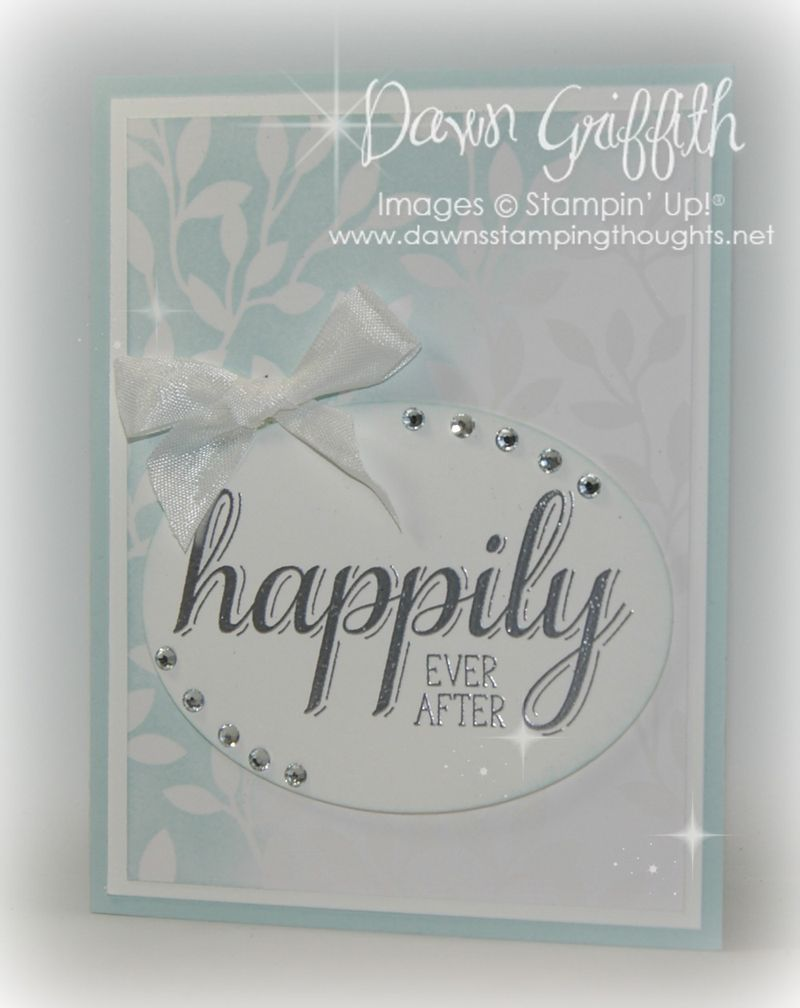 #1 Happily ever after card for Sue