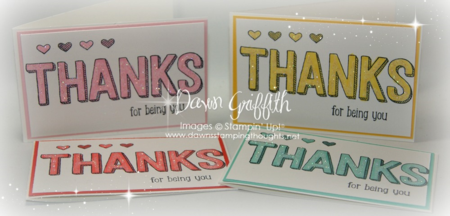 #1 March 2015 Thank you notes