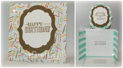 February Stampers club night card #1