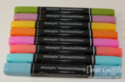 Stampin Blendabilities Markers