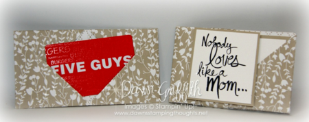 Paper wallet and gift card holder #1