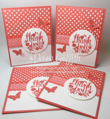 WW Thank you cards