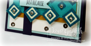 Just for you upclose to hand cut out squares #1