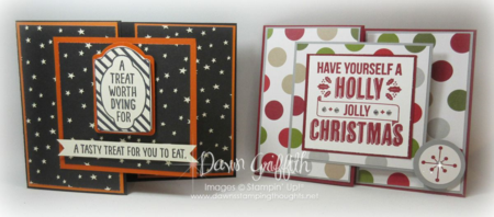 #1 Halloween and Christmas Gift card holders Dawn Griffith
