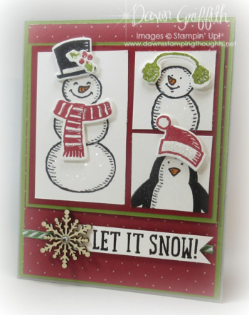 #1 Let it snow by Dawn Griffith