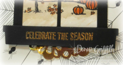 Celebrate the season upclose embossed Dawn Griffith