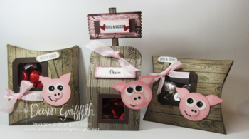 Barnyard Piggies Stampin'Up! Dawn Grifith