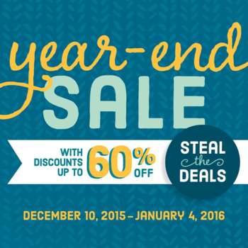 Year end steal the deals up to 60% iff