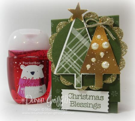 #1 Christmas Blessings Hand Sanitizer Holder