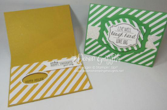 Happy Healing cards  #2 Dawn Griffith Stampin'Up!