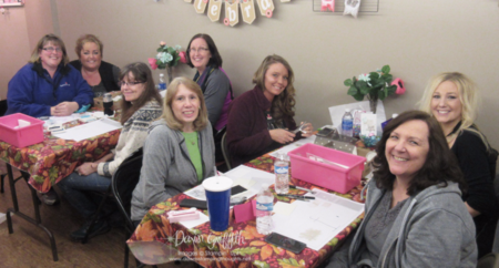 Stamp a stack ladies March 19, 2016