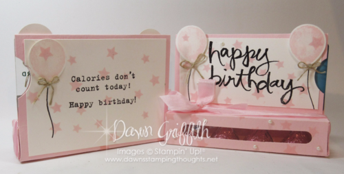 Gift card holders Front and Back Dawn Griffith Stampin Up! demonstrator