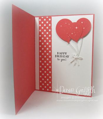 #1 Cake time card Watermelon Wonder inside Sale a bration Occasions catalog 2016 Dawn Griffith Stampin'Up! Demonstrator