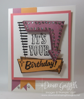 It's YOUR Birthday Dawn Griffith Brand new stamp set in the  Stampin'Up! 2016 2017 Annual catalog June 1, 2016