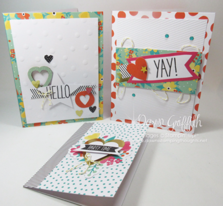 Oh Happy Day card kit photo #2 Dawn Griffith Stampin'Up!